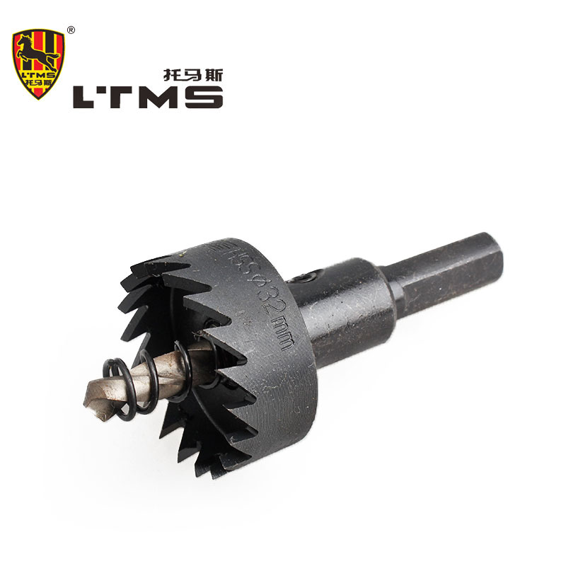 32mm Advanced High-speed Steel Hardware Tool Hole Saw Drilling Opening Wear Power Drill Bit Fitting Combination Tool Set  цены