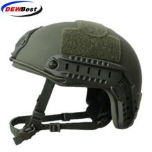 ISO Certified DEWBest bullet proof brand NIJ Level IIIA FAST High Cut Bulletproof Aramid Ballistic Helmet With 8Yrs Warranty-in Self Defense Supplies from Security & Protection on AliExpress