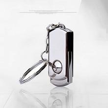 Metal rotary usb flash drive 8gb 16gb 32gb  64gb  plate usb flash pen drive stick USB 2.0  U Disk free shipping