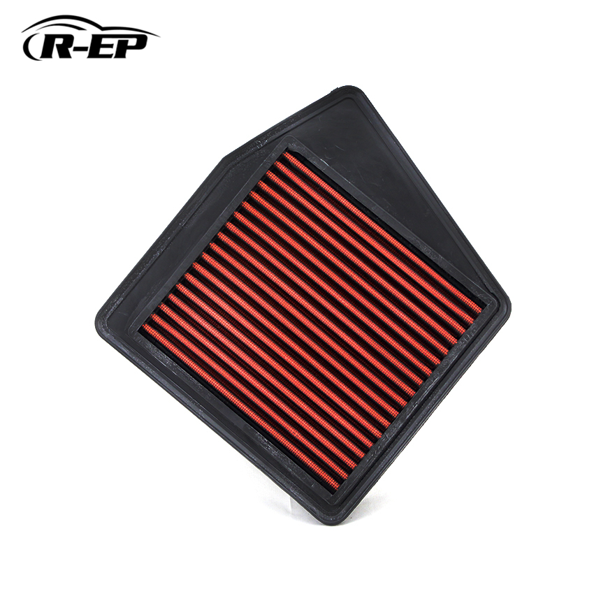 R EP Replacement Panel Air Filter for Honda ACCORD 2008 2015 2 0L High Flow Panel