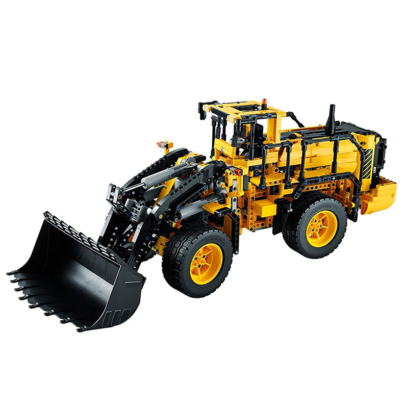 Lepin 20006 1636Pcs Technic Series Volvo L350F wheel loader Model Building Kit Blocks Brick Gift For Children Toys 42030 a localisation and navigation system for an autonomous wheel loader
