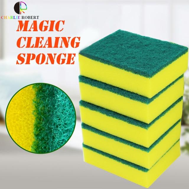 Aliexpress.com : Buy 10pcs/lot Super Clean Kitchen Magic Sponge ...