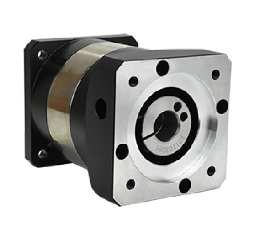 цена planetary gear reducer 12 arcmin 2 stage ratio 15:1 to 100:1 for NEMA23 stepper motor input shaft 1/4inch 6.35mm
