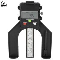 Zaciski 80mm Wysokość Stóp LCD Cyfrowy Magnetyczne Przyrząd Do Pomiaru Do Obróbki Drewna