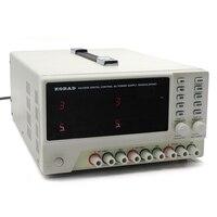 30V 5A KA3305D Three Way DC Power Supply Programmable Precision Variable Adjustable Triple Linear Digital Regulated