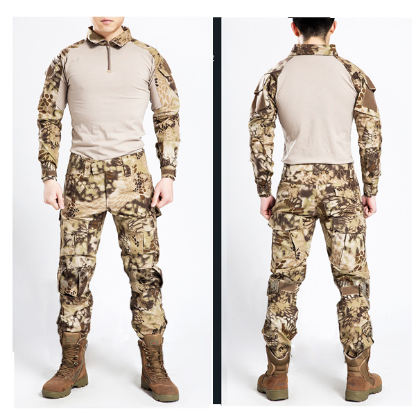 highlander Frog Suits 2015 Taktiskais vardes tērps ASV armijas armijas formas tērpos (Jaka + bikses)