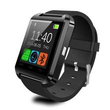 Manos Libres Bluetooth U8 Reloj Inteligente Digital de reloj de Pulsera Deportivo para Android Teléfono con Caja Al Por Menor Regalo Smartwatch Wristwear
