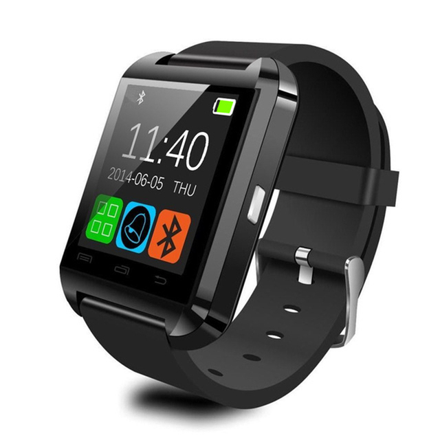 Bluetooth Smart Watch U8 Handsfree Digital-watch Sports Wristband for Android Phone with Retail Gift Box Smartwatch Wristwear