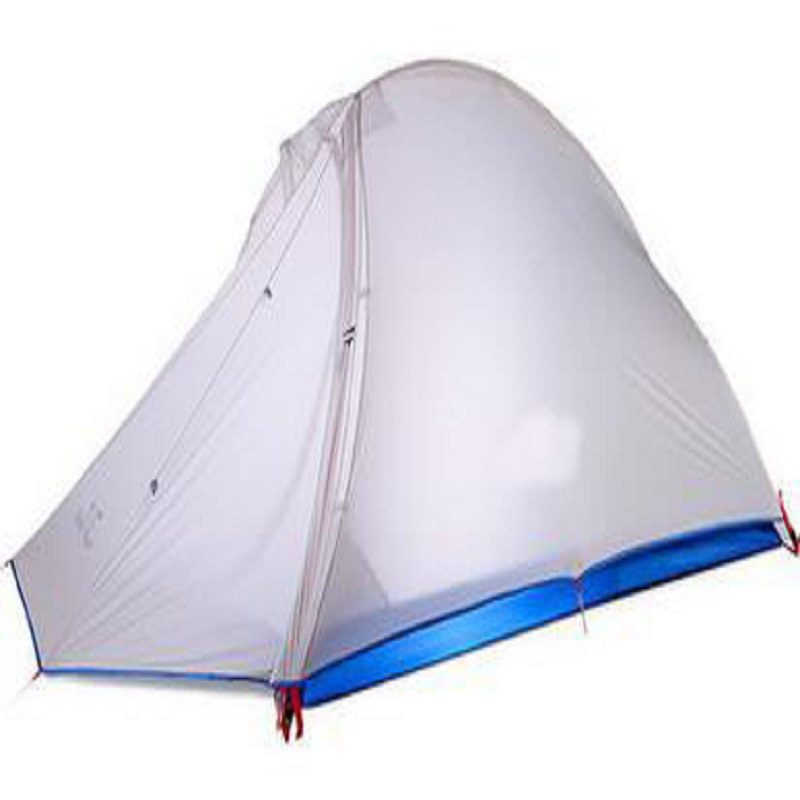 Outdoor single double double aluminum rod typhoon rain windproof professional mountain tent