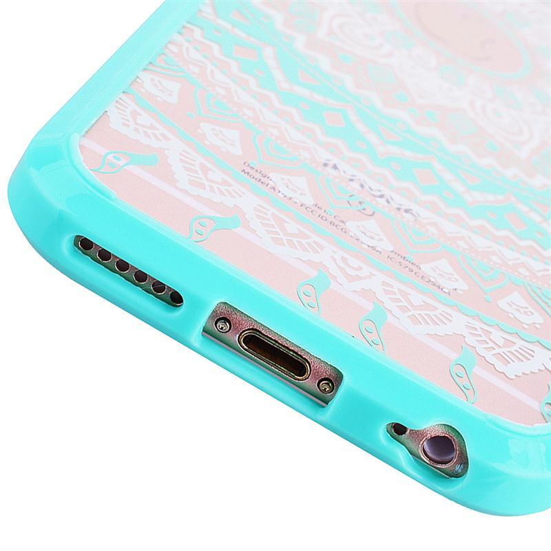 Lyxigt hårt PC-fodral för iPhone 6 6s Plus-fodral för Mandala - Reservdelar och tillbehör för mobiltelefoner - Foto 3