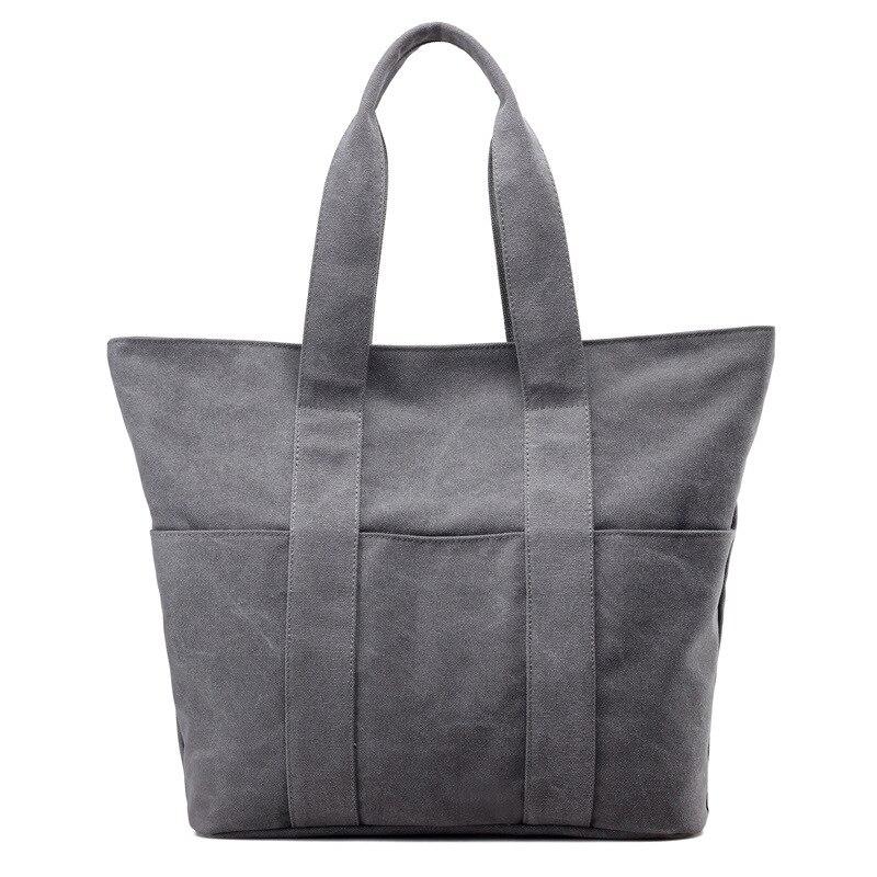 1250 Wholesale  Canvas Bag All-Match Shopping Bags Portable Shoulder Bag Handbag