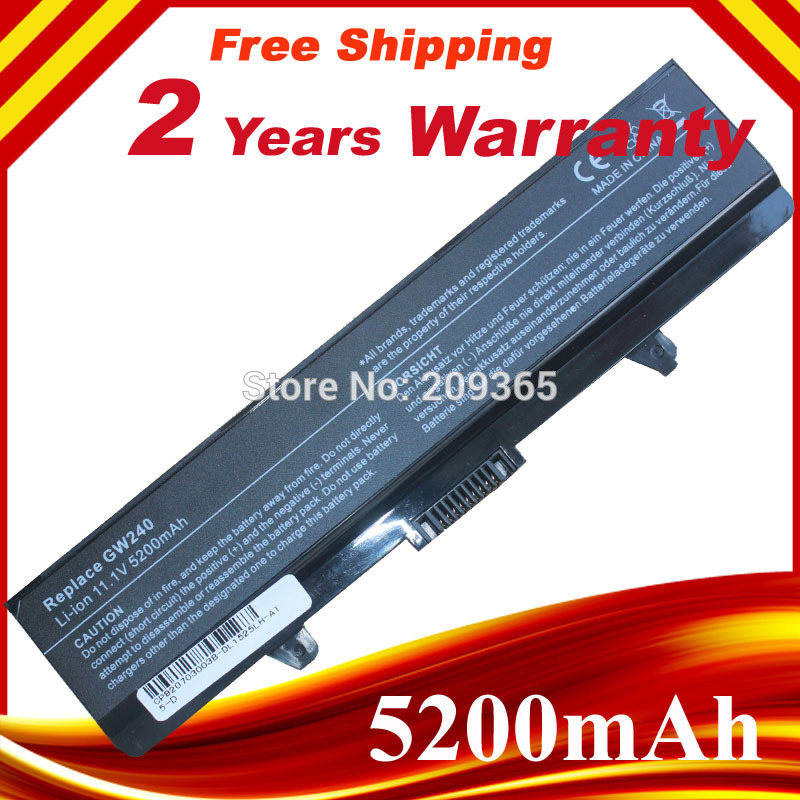 Laptop battery notebook battery for <font><b>Dell</b></font> <font><b>Inspiron</b></font> 1525 1526 1545 1440 <font><b>1750</b></font> GP952 image