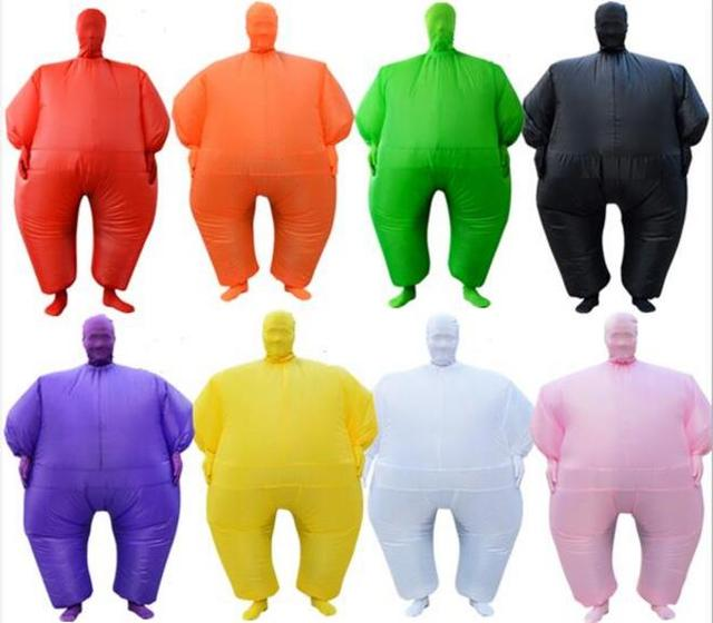 Clowns&Circus green chub air doll aerated costume clothing PVC inflatable mascot cosplay party prop ceremony creative toy