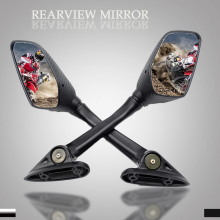 FOR YAMAHA YZF-R25 2014-2016 YZF-R3 2015-2017 YZF-R15 2013 2015 YZF R3 R25 Motorcycle rearview mirror side back hand bar mirrors motorcycle cnc aluminum footrest rear set foot peg plate guard black for yamaha yzf r3 yzf r25 yzf r3 yzf r25 2014 2015 2016