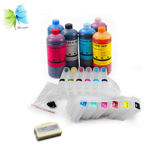 1 set continuous ink supply system+1 piece chip resetter+6 liter ink for epson pp100 printer free shipping ciss ink system for epson pp100 pp100ap pp100ii pp50 continuous ink supply system for epson pjic1 pjic6