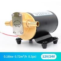 DC 12V 24V electric gear oil pump small diesel pump micro oil pump food grade self priming pump