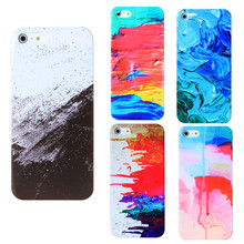 Graffiti Drawing Colorful Covers For Apple Iphone 5 5S SE 6 6S 7 Cases Silicon Soft TPU Shell Covers For Iphone5S 6S 7