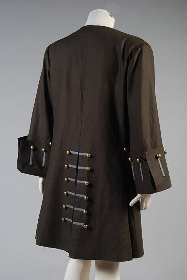Piratas del Caribe Jack Sparrow chaqueta abrigo traje conjunto completo  chaqueta solo hecho a medida en Disfraces anime hombre de La novedad y de  uso ... 59b2bfff57fd