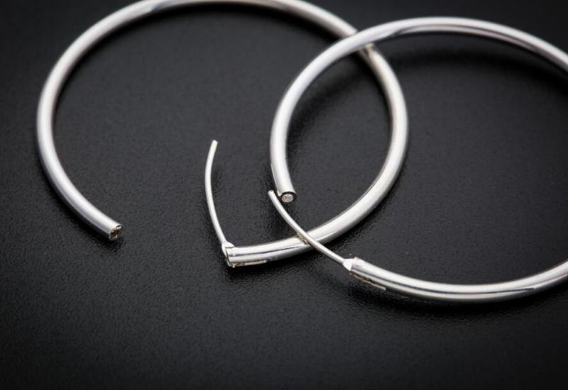 sinya circle ring hoop earring in 925 sterling silver ED0348E (2)