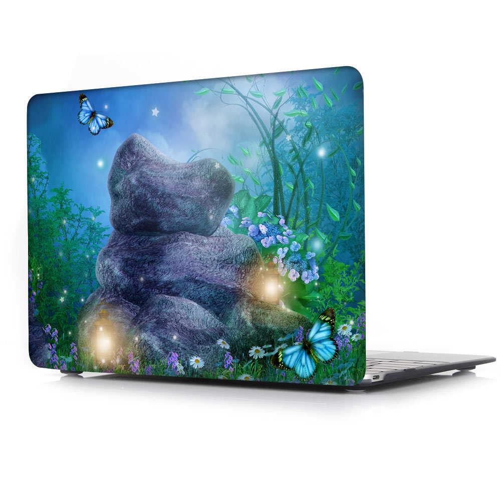 Wonderland Tale girl cuento impreso para macbook Air Pro Retina 11 12 - Accesorios para laptop - foto 5