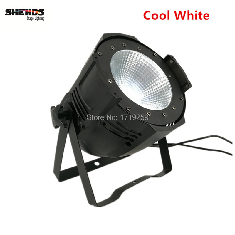2 pcs/lot LED Par COB 100W High Power Aluminium Case Stage Lighting with 100W COB ,cool white and warm white  winsune 2 100w cool white