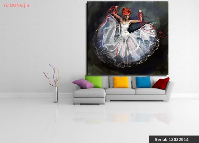 Slikarstvo Balet Mrtva priroda Sažetak ulje Slikarstvo Umjetnost - Kućni dekor - Foto 3