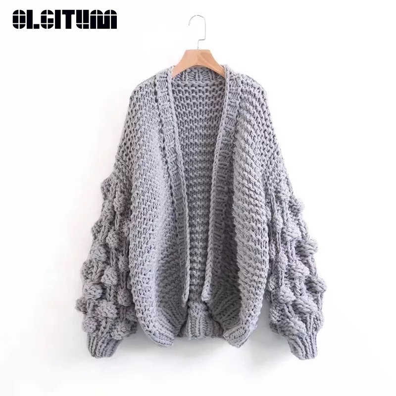 20c13318b36 Detail Feedback Questions about Winter Women's Thick Cardigan ...