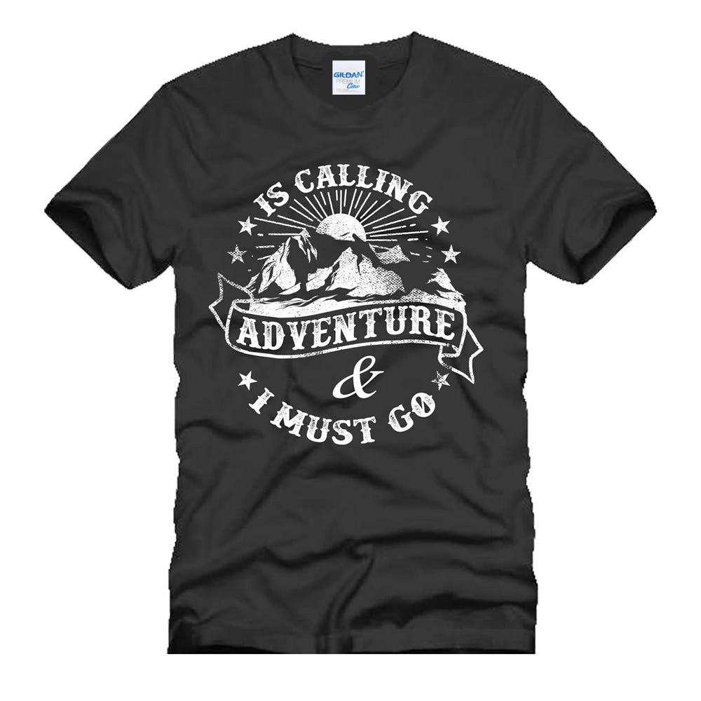 2018 модные странные вещи Футболка мужская улица хип-хоп Фитнес Adventure Mountain путешествия Wilderness предлагаем футболки