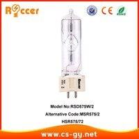 ROCCER chất lượng cao HSR575/72 GX9.5 máy tính lắc msr575/2 giai đoạn Pro bóng đèn Spotlight Kim Loại Metal Halide Đèn MSR 575