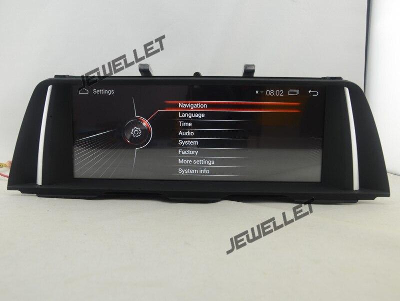 10,25 Quad core Android 7,1 Автомобильный GPS Радио Навигация для BMW 5 серии F10 F11 2009 2017 с 4G/Wi Fi с диагностическим разъемом и цифровым видеорегистратором Зе