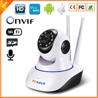 BESDER Yoosee 1MP Wifi IP Camera Baby Monitor Two Way Audio Pan Tilt Onvif Detect Motion