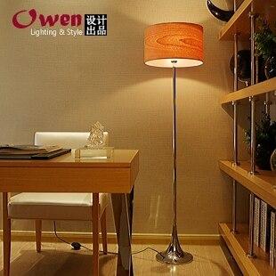 Натуральный шпон простой европейский стиль сад гостиной торшер спальне ден торшер fg603