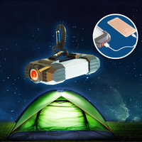 Portable Camping Light USB Rechargeable Flashlight Lanterna Led Tent Light SOS Emergency Mobile Power Bank Torch Searchlight