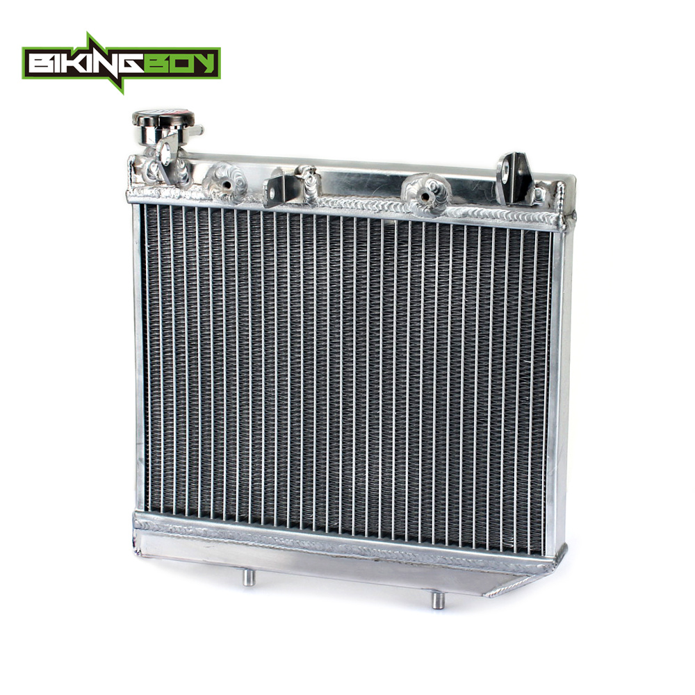 BIKINGBOY 1 S ATV Quad Dirt Bike Aluminum Cores Engine Water Cooling Radiators Radiator For HONDA TRX 450 Sportrax R 2004-2009 ...
