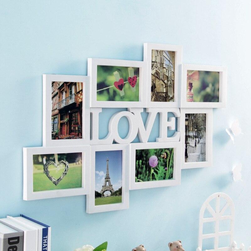 6 pulgadas decoración casera DIY foto Marcos Sets para pared enorme ...