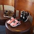 Meninos sapatilhas meninas esporte shoes 2017 new children shoes criança lazer formadores casuais respirável crianças running shoes