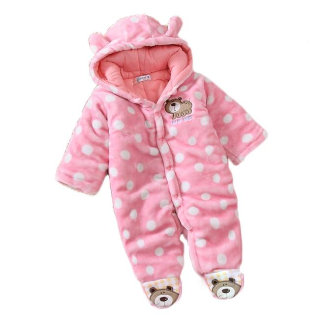 e4b05a06541c0 Baby romper suit coat cotton-padded jacket clothes designer baby snowsuits baby  boy coat 12 18 months infant down snowsuit