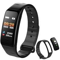 BANGWEI 2018 Smart bracelet Color screen Waterproof wristband heart rate monitor Blood pressure measurement Fitness tracker band