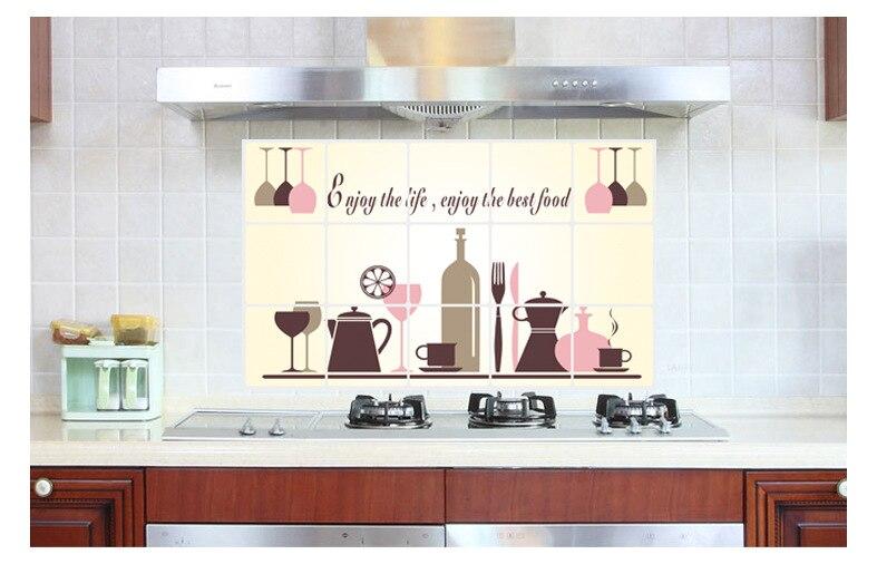 antiaceite de cocina pegatinas de pared para la cocina de pared poster cita