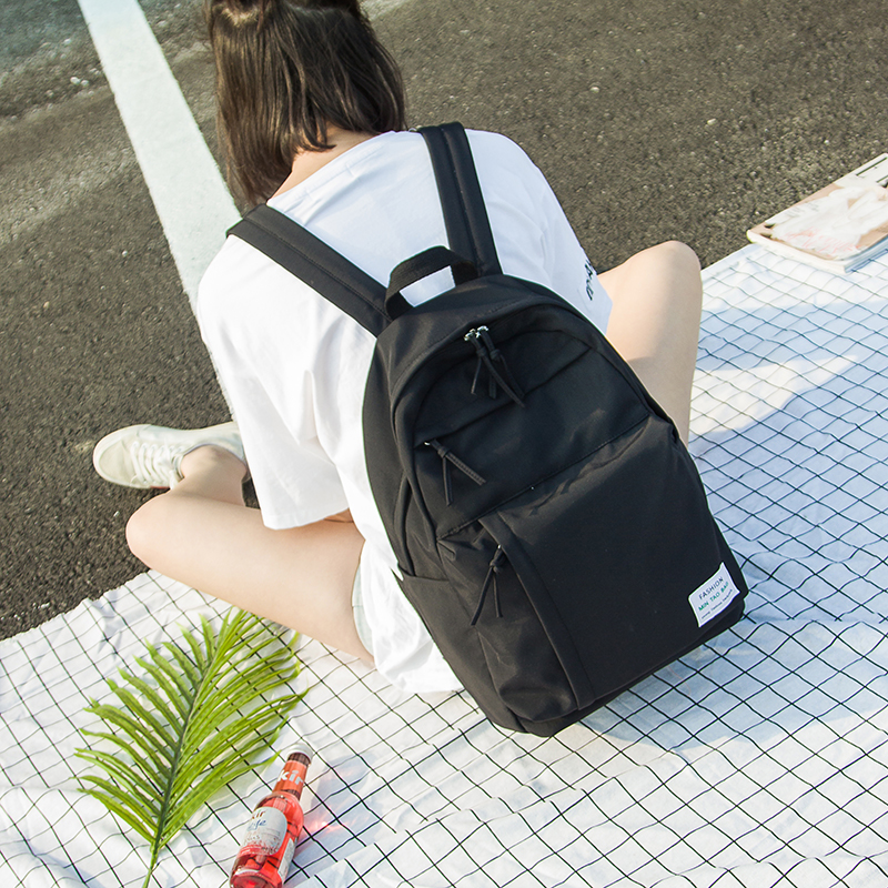 Multifunction women backpack fashion youth korean style shoulder bag laptop  backpack schoolbags for teenager girls boys travel-in Backpacks from  Luggage ... bb45e5adc8abb