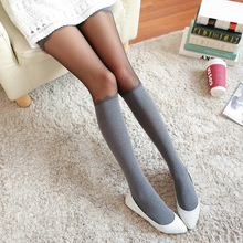 2ad46542a07 neelamvar women girl lace sexy high base soft velvet tights size Vintage  Stockings