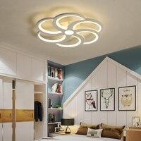 Modern led ceiling lights lamp for living room bedroom flower shape acrylic ceiling lamp for kids children bedroom home lighting