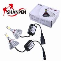 2Pcs H4 LED H7 H11 9005 9006 HB4 COB Chip Auto Car Headlight 40W High Low