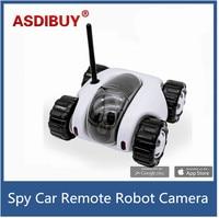 ASDIBUY New WiFi Spy Car Remote Robot Tank Camera Car Remote Control Home Security Camera Kids
