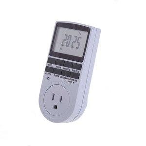 Image 5 - Electronic Digital Timer Switch 24 Hour Cyclic EU UK AU US FR BR Plug Kitchen Timer Outlet Programmable Timing Socket 220V