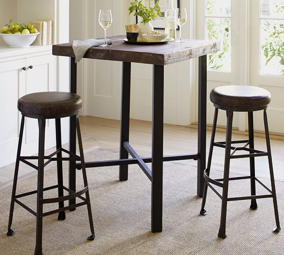 Iron Wood Household Bar Tables Small Corner Bar Counter Bar Chairs Modern  Minimalist Creative Combination In Patio Umbrellas U0026 Bases From Furniture  On ...