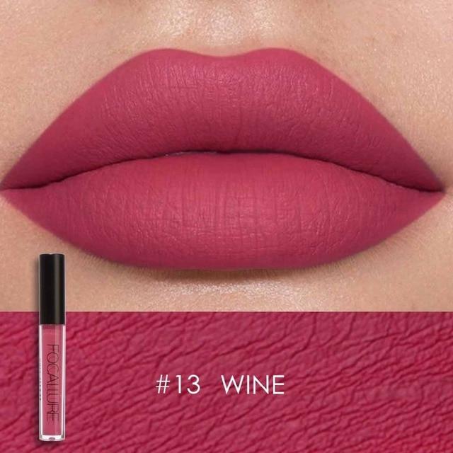 Focallure Matte Lip gloss Tint Lip Paint Colors Long Lasting Waterproof Liquid Moisturizing  Lipstick Beauty Makeup 2