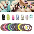 New Fashion Big Desconto de 30 Cores Rolls Striping Prego Linha Tape Etiqueta Do Prego DIY Nail Art Kit UV Gel