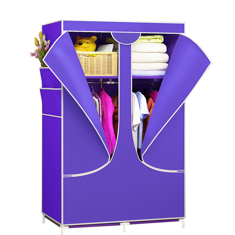 Simple Non-woven Cloth Wardrobe Dust-proof Storage Cabinet Wardrobe Collapsible Wardrobe Bedroom Closet Furniture