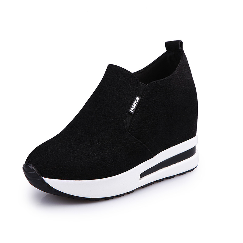 Muffin thick bottom slope with a single shoes female 2019 autumn new high shoes women's shoes high heels tide